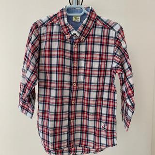 バックナンバー(BACK NUMBER)の七分袖チェックシャツ(Tシャツ/カットソー)