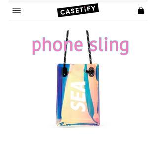 シー(SEA)のwind and sea casetify phone sling(トートバッグ)