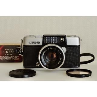 オリンパス(OLYMPUS)のOlympus Pen D ハーフサイズ名機 完動美品・試写済(フィルムカメラ)