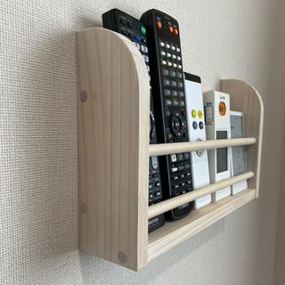 壁掛け リモコンホルダー/ リモコンストッカー 収納 ケース 棚 テレビ(その他)