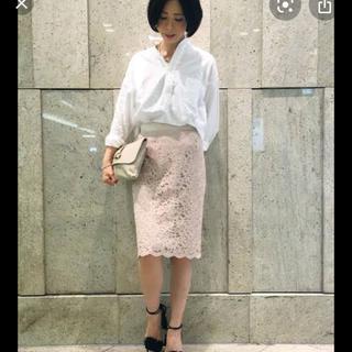 ノーブル(Noble)のTOTALITE スカラレースタイトスカート(ひざ丈スカート)