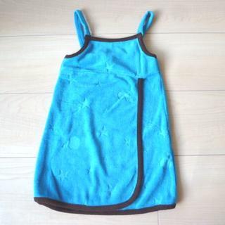 アイロニー(IRONY)のIRONY 新品難あり 濃い水色 ワンピース サンドレス 1歳 80 アイロニー(ワンピース)