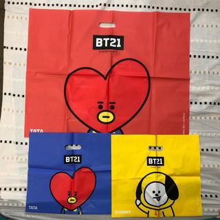 ボウダンショウネンダン(防弾少年団(BTS))のBT21 ショッパー 3種(K-POP/アジア)