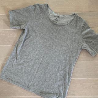 イッカ(ikka)の【ikka♡】グレー♡シンプル♡Tシャツ♡(Tシャツ(半袖/袖なし))
