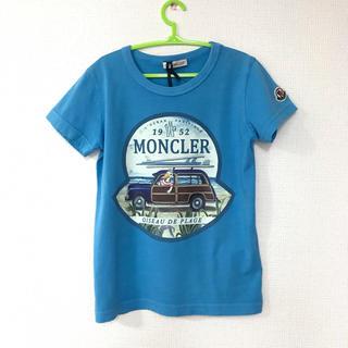 MONCLER - 新品 モンクレール 6A116 半袖Tシャツ 水色