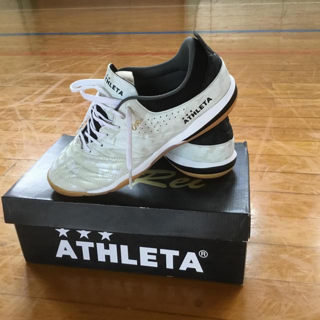 ATHLETA(アスレタ)のアスレタフットサルシューズ スポーツ/アウトドアのサッカー/フットサル(シューズ)の商品写真