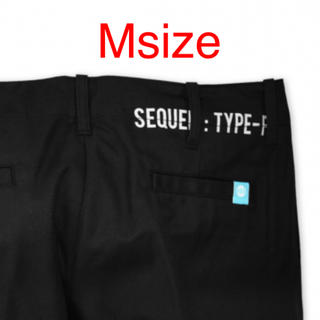 SEQUEL CHINO PANTS BLACK [Msize](チノパン)