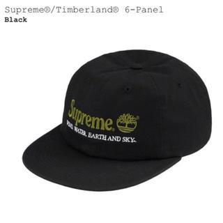 シュプリーム(Supreme)の【新品】 Supreme Timberland 6-Panel Cap ブラック(キャップ)