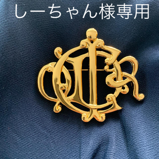 クリスチャンディオール(Christian Dior)のChristian Dior クリスチャンディオール アンティーク   ブローチ(ブローチ/コサージュ)