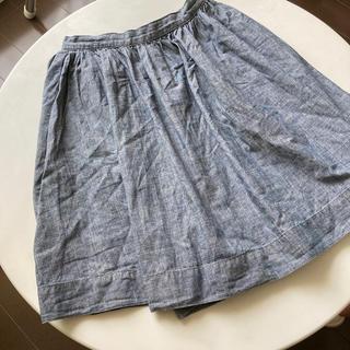 ムジルシリョウヒン(MUJI (無印良品))の無印良品 ダンガリースカート  150(スカート)