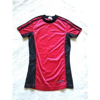 844 adidas サッカーユニフォーム型  made in japan(Tシャツ(半袖/袖なし))
