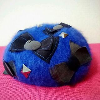 ランバンオンブルー(LANVIN en Bleu)の新品〜ランバン☆ベレー帽〜(ニット帽/ビーニー)
