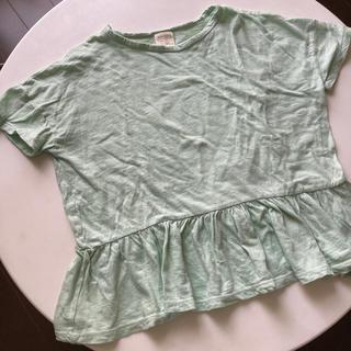 ザラキッズ(ZARA KIDS)のmario様 専用‼️    ZARA kids 裾フリルTシャツ122センチ(Tシャツ/カットソー)