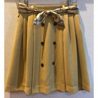 プーラフリーム(pour la frime)の【セール中】pour  la frime/ベルト付き スカート(ひざ丈スカート)