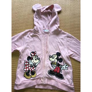 ディズニー(Disney)の女の子 パーカー(ジャケット/上着)