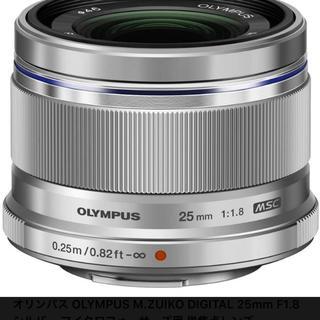 オリンパス(OLYMPUS)のOLYMPUS 単焦点レンズ 25mm f1.8(レンズ(単焦点))