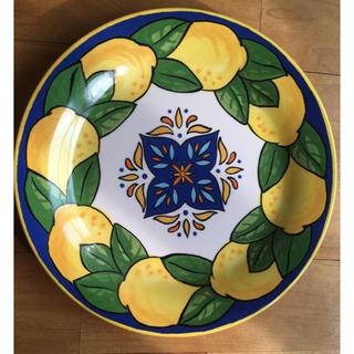 カルディ(KALDI)のカルディ  レモン柄陶皿 限定(食器)