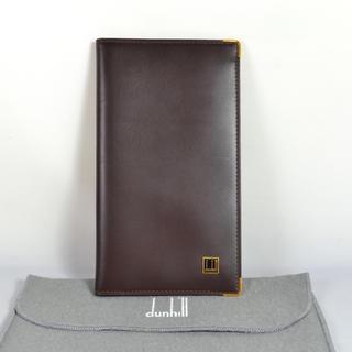 ダンヒル(Dunhill)のダンヒル dunhill 長財布 メンズ 二つ折り札入れ 中古美品(長財布)