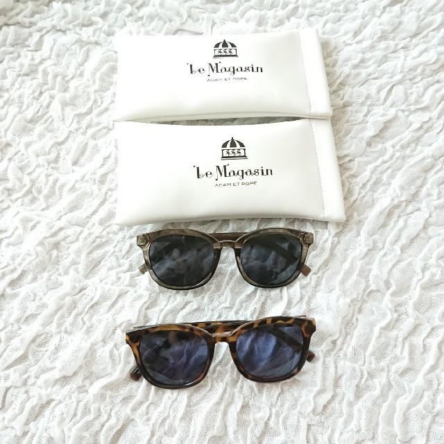 Adam et Rope'(アダムエロぺ)のADAM ET ROPE サングラス レディースのファッション小物(サングラス/メガネ)の商品写真