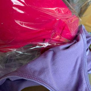 ジニエブラ L ビビットカラー ピンクとパープル(ブラ)