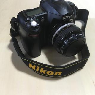 ニコン(Nikon)のニコンNikon  d50 とf1.4単焦点レンズ SDつき(デジタル一眼)