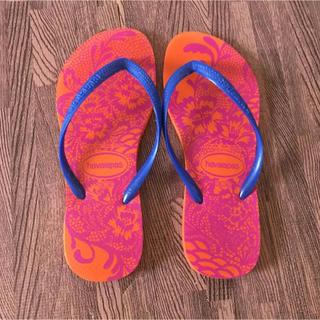 ハワイアナス(havaianas)のハワイアナス ビーチサンダル 23〜23.5cm(ビーチサンダル)