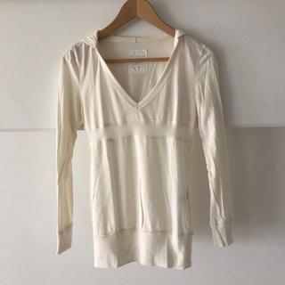 オゾック(OZOC)のOZOC フード付き長Tシャツ(Tシャツ(長袖/七分))