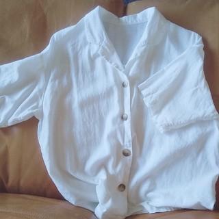 ジーユー(GU)のGUリネンシャツ(シャツ)