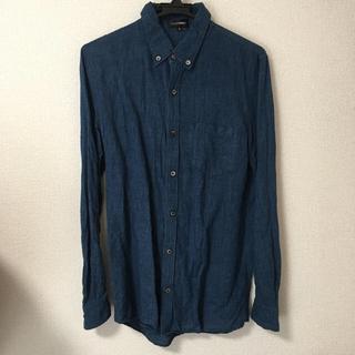 アタッチメント(ATTACHIMENT)のアタッチメント コットンリネン シャンブレー 1ポケットボタンダウンシャツ 2(シャツ)