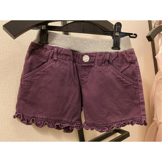MPS - 紫色のショートパンツ130センチ