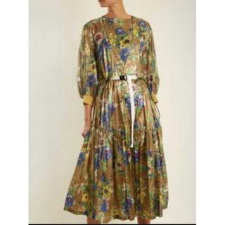 トーガ(TOGA)のTOGA PULLA Bright nylon dress ワンピース(ロングワンピース/マキシワンピース)
