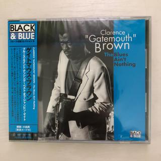 クラレンス・ゲイトマス・ブラウン ベスト PCD-5529 新品(ブルース)