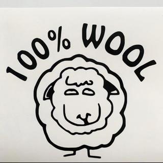 世田谷ベース 100%WOOL ステッカー(その他)