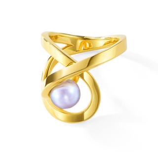 タサキ(TASAKI)の新品❤️TASAKI atelier オーロラリング YG 12号(リング(指輪))