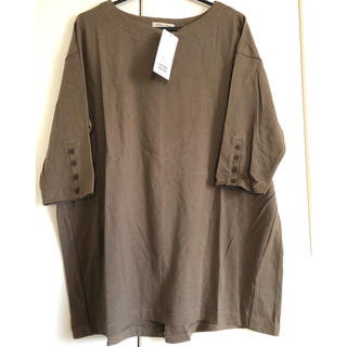 サマンサモスモス(SM2)のサマンサモスモス  袖口ボタンTee(Tシャツ(長袖/七分))