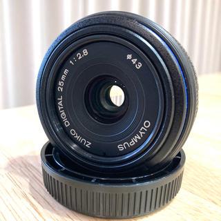 オリンパス(OLYMPUS)のZUIKO 25mm F2.8 フォーサーズフォーマット(レンズ(単焦点))