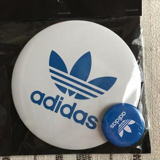 アディダス(adidas)のadidas 缶バッジ 2個(バッジ/ピンバッジ)