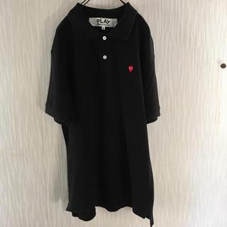 コムデギャルソン(COMME des GARCONS)のplay コムデギャルソン メンズ M ポロシャツ(ポロシャツ)