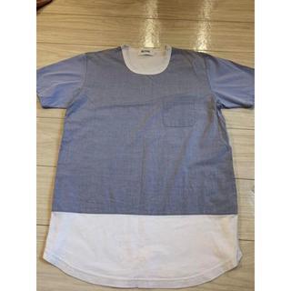 アロイ(ALOYE)のALOYE 切り替えTシャツ Mサイズ(Tシャツ/カットソー(半袖/袖なし))