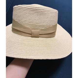 ジーユー(GU)のGU ジーユー カンカン帽 麦わら帽子(麦わら帽子/ストローハット)