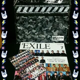 エグザイル トライブ(EXILE TRIBE)の月刊EXILE+ポストカード(音楽/芸能)