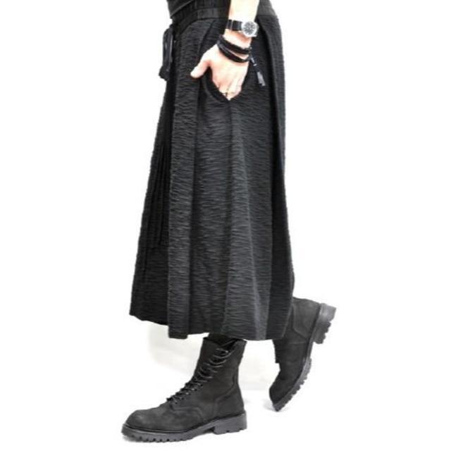 JULIUS(ユリウス)の新品!◆JULIUS クロップド フォールディング パンツ 2◆ユリウス メンズのパンツ(サルエルパンツ)の商品写真
