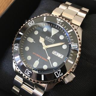 セイコー(SEIKO)の専用品‼️セイコーダイバー  SKX009 ネイビーボーイ MOD カスタム(腕時計(アナログ))