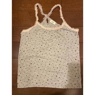 イッカ(ikka)のグレーのキャミソール150センチ(Tシャツ/カットソー)