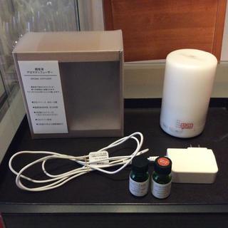 ムジルシリョウヒン(MUJI (無印良品))の超音波アロマディフューザー  (アロマポット/アロマランプ/芳香器)