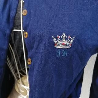 ジェーンマープル(JaneMarple)のJaneMarple 王冠刺繍カーディガン(カーディガン)