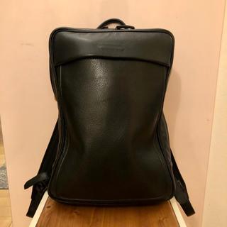 ツチヤカバンセイゾウジョ(土屋鞄製造所)のobjects.io Soft Backpack Medium ブラック(バッグパック/リュック)