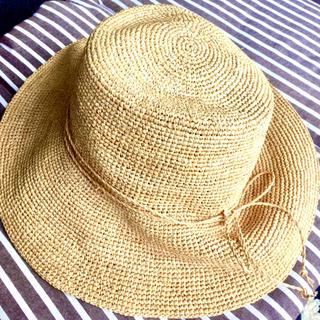 ムジルシリョウヒン(MUJI (無印良品))の無印良品 つばひろ帽子(麦わら帽子/ストローハット)