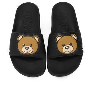 モスキーノ(MOSCHINO)の新品⭐︎モスキーノ ベア サンダル くま テディベア 37 靴(サンダル)
