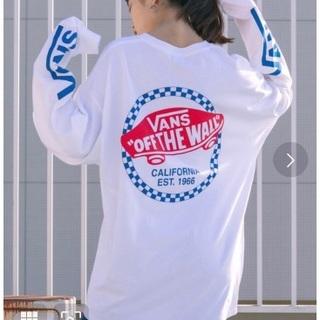 ヴァンズ(VANS)のVANS ロングtシャツ ロンt 長袖tシャツ(Tシャツ(長袖/七分))
